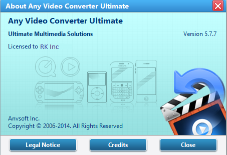 Any Video Converter Ultimate Latest Version 5.7.7 Crack Free