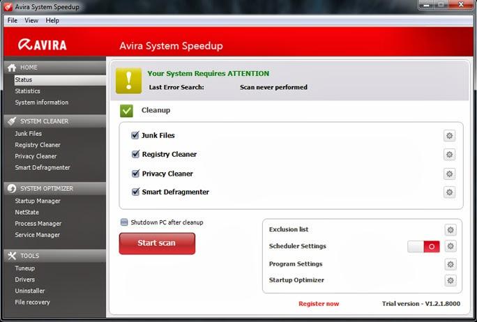 Avira System SpeedUP License Number crack free download