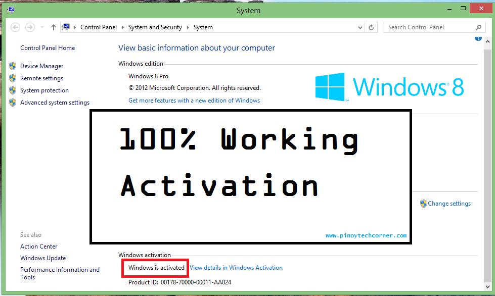 windows 8 activator full version free download