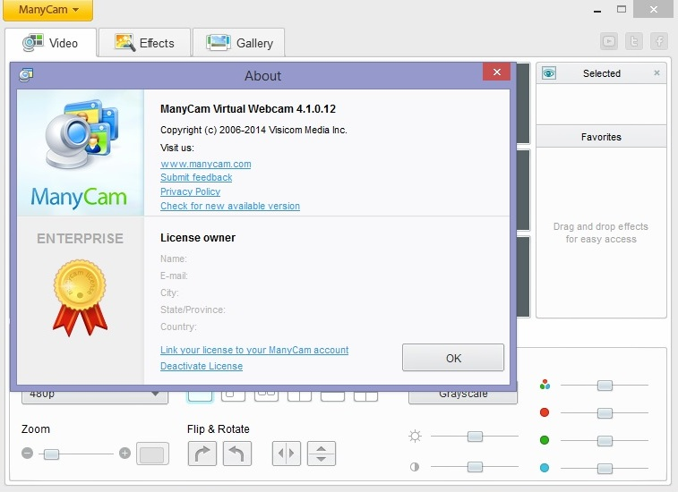 ManyCam PRO and Enterprise Crack Free Download
