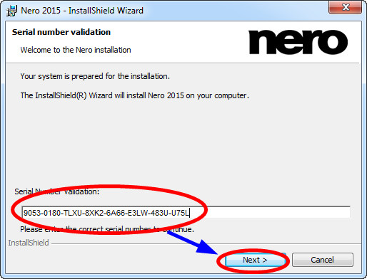 Nero 2020 Platinum serial number validation