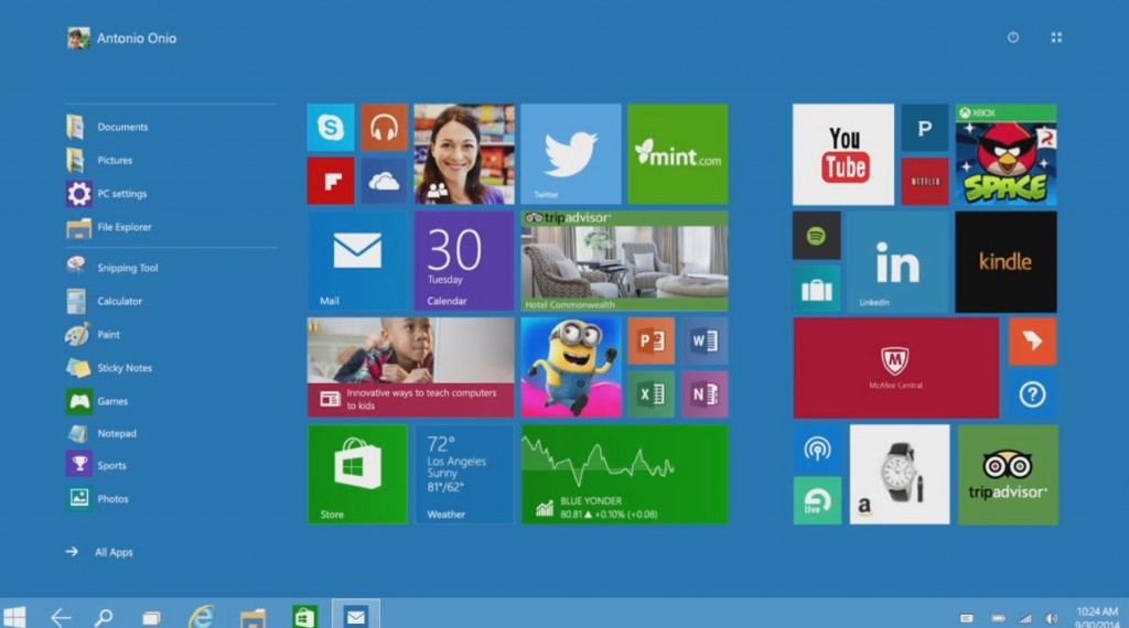 Windows 10 Technical Preview ISO Free Download 32 Bit and 64 Bit 2