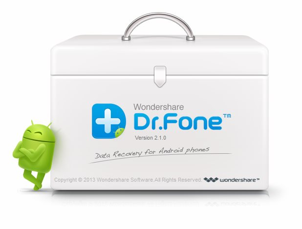 WonderShare DR. Fone for Android Smartphones Crack Free Download