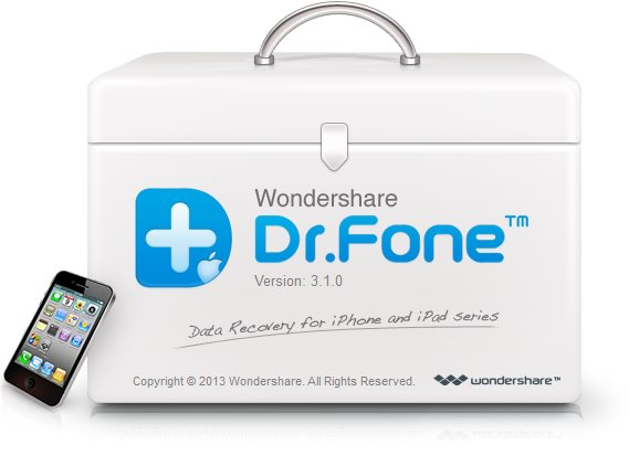 WonderShare Dr. Fone For iOS Crack Free Download