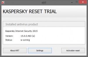Kaspersky Internet Security 2015 Trial Resetter Free Download