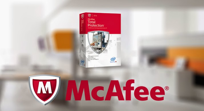 McAfee Total Protection 2015 Setup with Crack