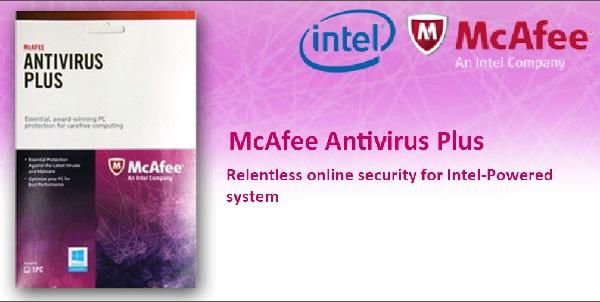 McAfee Antivirus Plus 2018 Crack Free Download